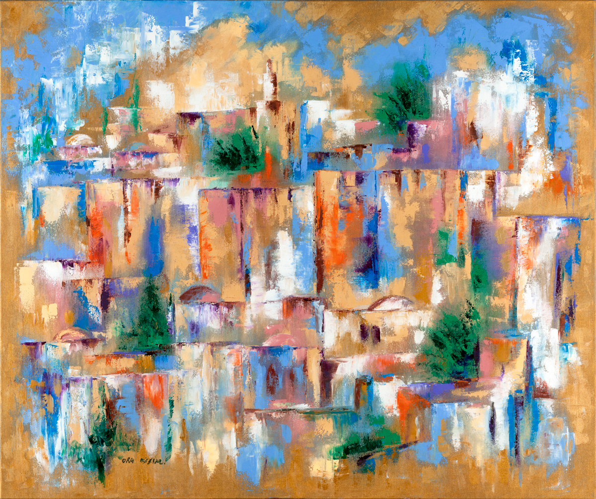 Colorful Kotel by Ora Nissim